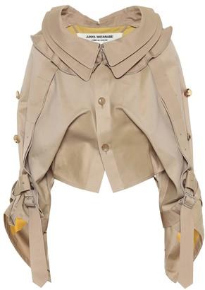 Junya Watanabe Cropped cotton jacket