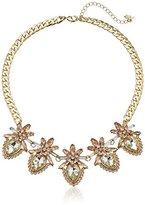 """ABS by Allen Schwartz Pastels Floral Stone Necklace, 17.5"""" + 3.25"""" Extender"""