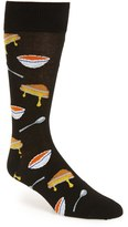 Hot Sox Men's 'Grilled Cheese & Tomato Soup' Socks