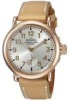 Shinola Detroit The Runwell 36mm - 10000246 (Silver/Natural) Watches