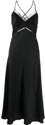 Victoria Beckham lace details slip dress