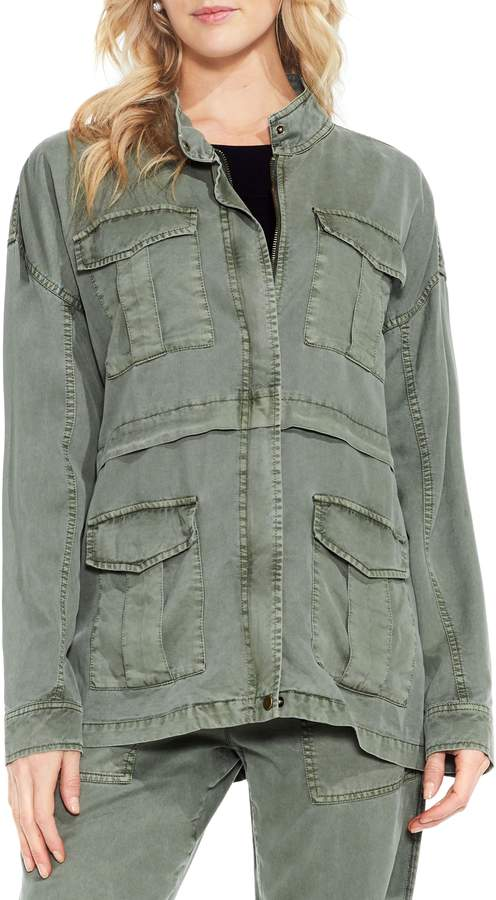 Vince Camuto Twill Cargo Jacket