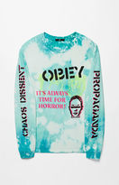 Obey Bleached Chaos & Dissent Long Sleeve T-Shirt