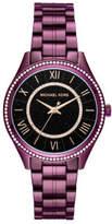 Michael Kors Lauryn Purple Watch