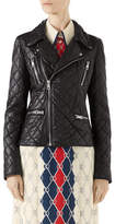 Gucci Quilted Napa Leather Biker Jacket