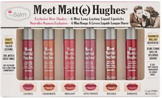 TheBalm Meet Matt(e) Hughes Mini Liquid Lipstick Set - Limited Edition