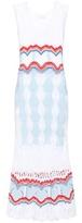 Peter Pilotto Knitted cotton-blend dress