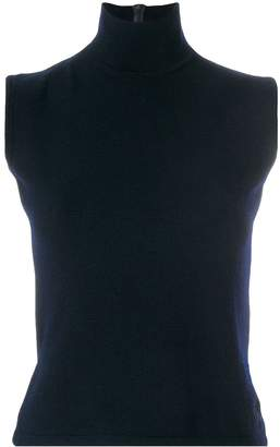 Christian Dior Pre-Owned turtleneck knitted top