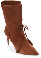 French Connection Tan Rowdy Pointed Toe High Heel Booties