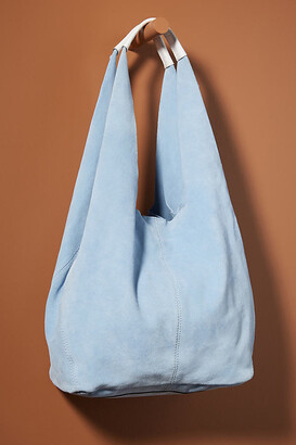 Anthropologie Sylvia Slouchy Tote Bag By in Blue Size ALL