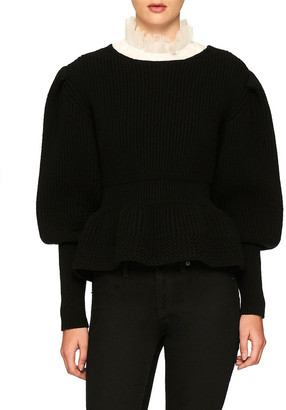 Burberry Wool & Cashmere-Blend Sweater