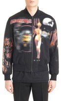 Givenchy Men's Pieced Cotton Bomber Jacket