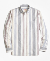 Brooks Brothers Stripe Oxford Sport Shirt