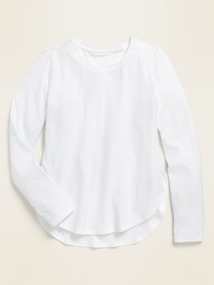 Old Navy Breathe ON Tulip-Hem Long-Sleeve Top for Girls