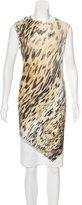 Roberto Cavalli Sleeveless Tiger Print Tunic
