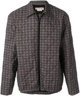 Marni quilted checked jacket