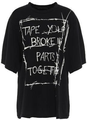 Haider Ackermann Printed Cotton-jersey T-shirt