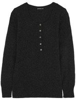 James Perse Henley Thermal Cashmere Sweater