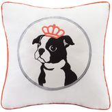 HipStyle Braxton Dog Square Throw Pillow