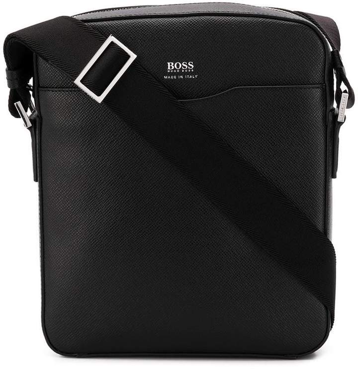 HUGO BOSS saffiano messenger bag