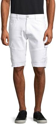 X-RAY Jeans Xray Jeans Moto Denim Cargo Shorts