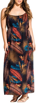 City Chic Bay Islands Maxi Dress