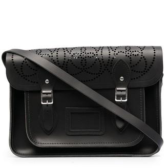 10 Corso Como Perforated-Detail Buckled Shoulder Bag