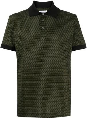 Salvatore Ferragamo Gancini short-sleeve polo shirt
