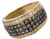 LeVian Le Vian Chocolate Diamonds, Vanilla Diamonds & 14K Honey Gold Ring