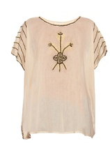 The Great The Willow embroidered top