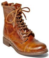Steve Madden Charrie Leather Lace-Up Combat Boot
