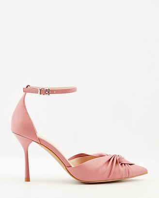 Le Château Knotted Pointy Toe d'Orsay Pump
