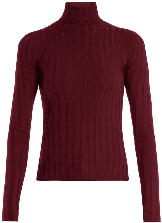 Acne Studios Corina ribbed-knit wool-blend sweater