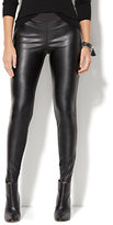 New York & Co. Soho Jeans - Faux Leather-Front High-Waist Legging - Ponte