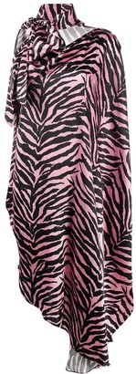 MM6 MAISON MARGIELA Zebra Print Dress