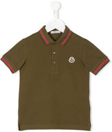 Moncler classic logo polo shirt - kids - Cotton - 4 yrs