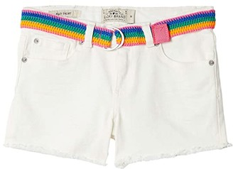Lucky Brand Kids Chriselda Embroidered Shorts in Natural Wash (Big Kids) (Natural Wash) Girl's Shorts