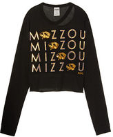 PINK University Of Missouri Long Sleeve Campus Cutout Tee