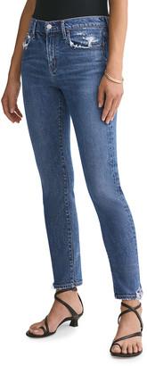 AGOLDE Toni Stratosphere Mid-Rise Slim Straight Jeans