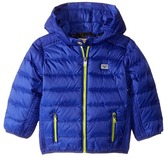 Armani Junior Down Puffer with Hood Boy's Coat