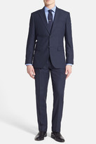 Santorelli Trim Fit Wrinkle Resistant Travel Suit