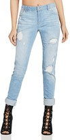 BCBGeneration Destroyed Boyfriend Jeans in Orion