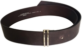 Max Mara Brown Leather Belt
