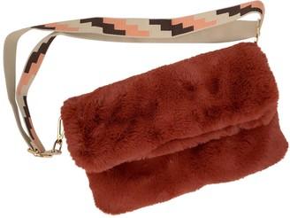 Rebecca J Mills Designs Faux Fur Rust Bag
