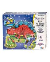 Fashion World Mosaic Art Prehistoric Dino