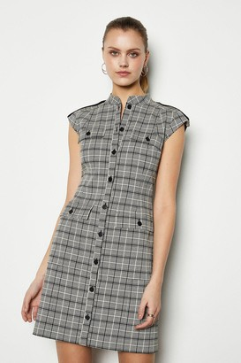 Karen Millen Graphic Jacquard Dress