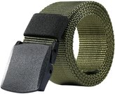 KingMoore Nylon Belt Outdoor Men's Military Tactical Belt Casual Belt Plastic Automatic Buckle Webbing Belts