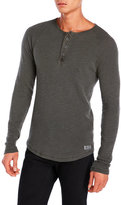Lucky Brand Slub Thermal Henley