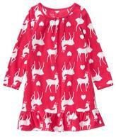 Crazy 8 Reindeer Microfleece Pajama Gown