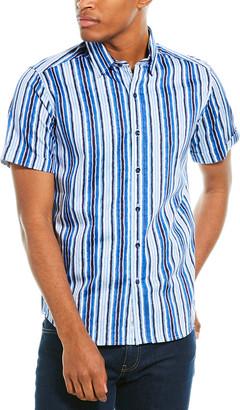 Robert Graham Hans Tailored Fit Woven Shirt